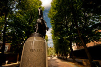 Paul Revere Monument - Boston Mass