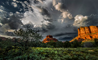 Bell Rock and Courthouse Butte - Sedona Arizona