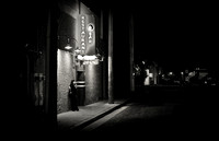 The entrance to T L Maxwell's - Bakersfield California